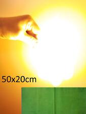 Pyropapier Grün Zauberpapier Flashpaper Rauchfrei Rückstandsfreie Verbrennung