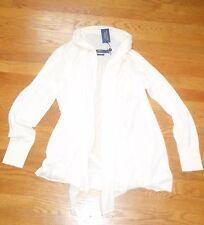 $ 398 NEW ! NWT RALPH LAUREN 100% Cashmere Cardigan in Cream Size XL