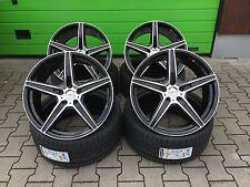 19 Zoll Felgen 5x112 Axxion AX7 für Mercedes C63 AMG W204 NEU ABE Schwarz ET45