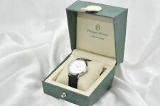 Philippe Moraly - elegante und schöne Damenuhr Uhr mit Datum - ungetragen.