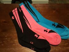 Lot Of 3 Pair Mens Large Under Armour Socks