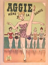 RARE MAGAZINE / AGGIE MÈNE LA DANSE / EDITION 1957 / BON ETAT