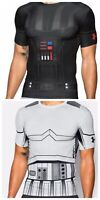 Under Armour UA Star Wars Compression Mens Shirt Darth Vader or Storm Trooper