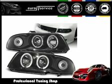 FARI ANTERIORI HEADLIGHTS LPAU03 AUDI A4 1994 1995 1996 1997 1998 ANGEL EYES