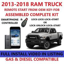 Plug and Play Remote Start For RAM 1500 2500 3500 4500 MyCar Smart-Phone