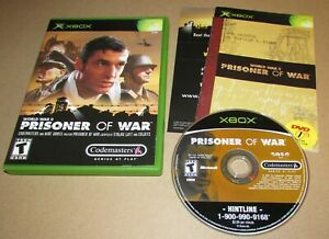 Prisoner of War for Microsoft Xbox Complete Fast Shipping