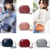 Lady Crossbody Leather Shoulder Bag Tote Small Shell Handbag Messenger Satchel