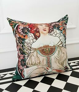 Mosaic Rich Angel Arty Abstract contemporary Occasion Art Deco Scatter Cushion