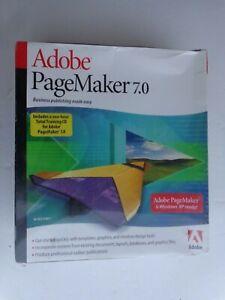 Adobe PageMaker 7.0 (Retail) (1 User/s) - Full Version for Windows 27530341