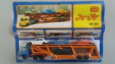 vintage truck  trailer  4 cars . n161  JOY TOY greece toys