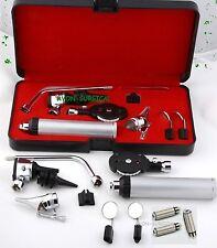 NEW CYNAMED USA Veterinary Otoscope & Opthammoscope Diagnostic Set +3 EXTRA BULB