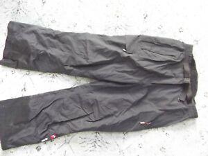 Women's ALPINE DESIGN black gore tex snow pants Sz. L