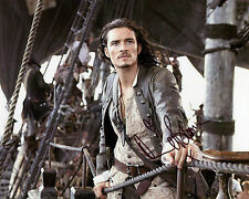 Orlando Bloom - Will Turner - Pirates of the Caribbean -Signed Autograph REPRINT