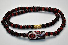 Afrika Halskette / African Necklace mit old venetian millefiori bead