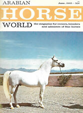 Arabian Horse World - June 1965