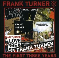 Frank Turner - The First Three Years [CD]
