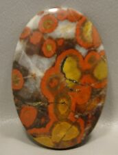 Morgan Hill Poppy Jasper Cabochon Large Stone Bargain Jewelry Making Supllies #4