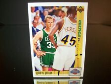 Larry Bird Vs. Chuck Person Upper Deck 1992 Card #30 CLASSIC CONFRONTATION NBA