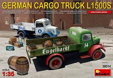 MiniArt 1/35 Tedesco Cargo Camion L1500S # 38014