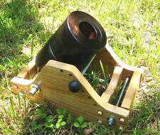 "ONE BLACK POWDER X-LARGE SIGNAL Plum Brown Finish Salute CANNON 1.7"" bore"