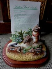 Royal Windsor<Eastern Chipmunk>Porc.Fig. Wood Stand Southern Living Gallery