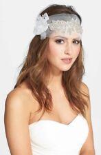 SEREPHINE 'Francesca' Headpiece/Sash Ivory $398