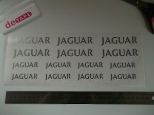 jaguar...Text...Brake Caliper..Decals...stickers..on 12 year vinyl..x14