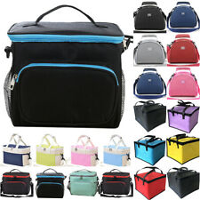 Lunch Bag Cooler Thermal Insulated Food Drink Box School Picnic Travel Lunchbox
