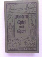 Livre-randonnée, jeu et sport-ORIGINAL édition de 1929/s49