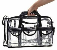 Large Clear Makeup Bag Travel Cosmetic Transparent PVC Toiletry Bags Pouch Wash