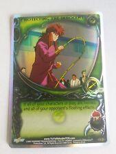 Yu Yu Hakusho TCG CCG Protecting the Innocent TU2 Double Rainbow Foil Card