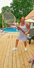 GIANT Donnay Borg Wooden Tennis Racquet Pro Shop Court Display Prop Vintage RARE
