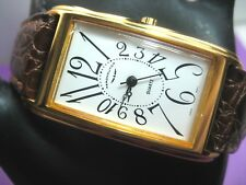 AERONAUTICA VINTAGE RARE MEN'S WATCH GOLD PLATED CASE 23.00 X 34.00 MM ANALOG