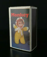 Vintage BABY WILLIAM MONKEY Matchbox Doll ZOO SERIES with Box 1970s NICE! Yellow