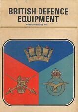 BRITISH DEFENCE EQUIPMENT Vtg Vietnam War Military Weapons Gun Catalog UK Photos