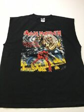 Iron Maiden Number of the Beast 2008 World Tour XL Heavy Metal Concert T-shirt