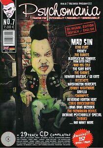 Psychomania #7 - Psychobilly Fanzine (NEW MAGAZINE)