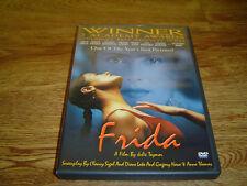 Frida-2002(DVD)(2-Disc Set)*OOP*-Salma Hayek,Alfred Molina-Free Ship+Ch Insert