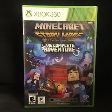 Minecraft: Story Mode The Complete Adventure (Microsoft Xbox 360) BRAND NEW