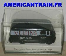 Voitures, camions et fourgons miniatures multicolores Mercedes 1:87