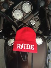 Hells/Hell's Angels  R'Side Hats: Rside Red Beanie