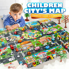 Baby Simulation Play Mat City Road Map Playing Mats Toy Portable Game Waterproof