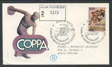 1981 - REPUBBLICA - ATLETICA LEGGERA - BUSTA FDC FILAGRANO VIAGGIATA - LOTTO/273