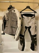Rev'it! Cayenne Pro Jacket Pants Medium, Grey Black, used