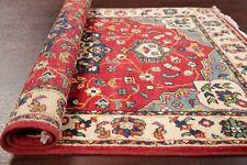 3x4 Oriental Area Rug Red New Geometric Super Kazak Hand made Carpet Rugs Wool
