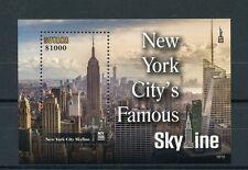 Guyana 2016 MNH New York City Famous Skyline NY2016 1v S/S Skyscrapers Stamps