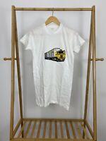 VTG 80s ICX Transportation Trucking Single Stitch Thin T-Shirt Size S USA