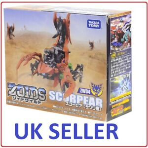 **UK Seller** Zoids SCORPEAR (ZW04) - Official Takara Tomy - Toy Figure BOXED