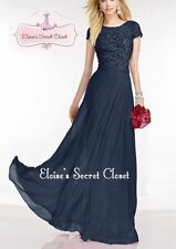 Lace Short Sleeve Formal Ballgowns for Women