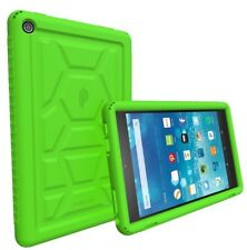 Poetic For Amazon Fire HD 8 Rugged Case Turtle Skin Shockproof Cover Green